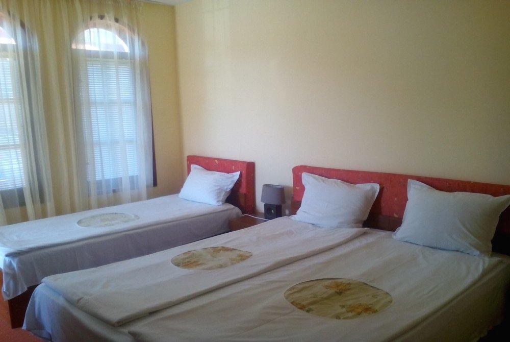 The bedroom in the guest house in Primorsko